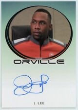 2020 The Orville Archives Autograph Packs J. Lee Bordered Autograph