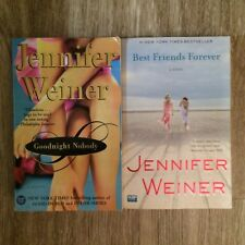 Jennifer Weiner Books - Lot of 2 (Best Friends Forever and Goodnight Nobody)