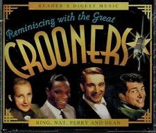 READERS DIGEST - REMINISCING WITH CROONERS- NEW SEALED 4 CD SET BOX SET