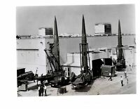 Vintage US Army Press Photo Missiles Possibly Pershing V18