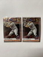2019 Topps Chrome Update Series #86 Pete Alonso RC ASG New York Mets Lot PA4
