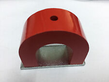 Strong Red Alnico Horseshoe Magnet 40 lb Capacity Pull Power 12 Oz Tool Magnets