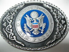 States Air Force - Pewter Belt Buckle #443 - United