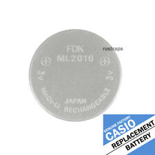 watches (Db-E30, Db-E30D) by Fdk Ml2016 rechargeable battery for Casio solar