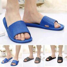 Men Summer Non-slip Bathroom Shower Sandals Slippers Indoor Outdoor Bath Shoes