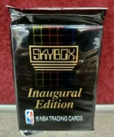 1990-91 SkyBox Inaugural Edition NBA Basketball Series 1 Cards - Unopened Pack