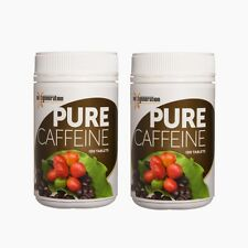 2 x 100 PURE CAFFEINE TABLETS  Coffee Berry Tablets Organic Gluten Free