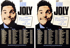 DOM JOLLY TOUR FLYER X 2 - COMEDIAN  COMEDY ( TRIGGER HAPPY )
