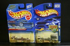 2 New Hot Wheels Thunderstreak 131 Virtual Collection 135