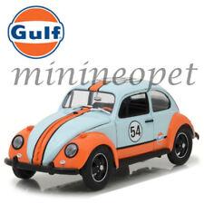 GREENLIGHT 12994 GULF OIL RACER 1967 VW VOLKSWAGEN BEETLE #54 1/18 LIGHT BLUE