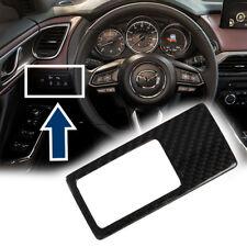 Carbon Fiber For Mazds Miata MX5 Front Smart idle stop system Trim Club 16+