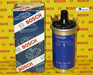 Bosch Ignition Coil - 0221119027, 00012 - Fits: BMW Porsche VW Volvo - NEW OEM