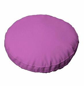 pc509r Purple Round Water Proof PVC/PU Thick Mattresses Cushion Cover Custom Siz
