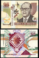 MEXICO 25TH ANNIVERSARY ND 1994 TEST NOTES FAUSTO URENCIO UNC