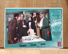 ETERNA ARMONIA poster fotobusta Muni Merle Oberon Chopin A Song to Remember F96