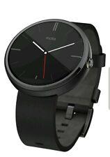 "Motorola Moto 360 Modern Timepiece Smart Watch 1.3"" Black"