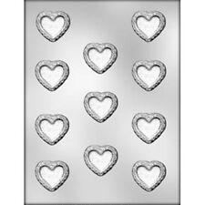 Heart Filigree Medium or Valentine/Wedding Heart Chocolate Mould