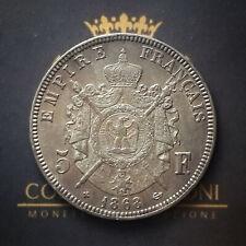 FRANCIA - 5 FRANCHI - 1868 - NAPOLEONE III - SILVER - BB+