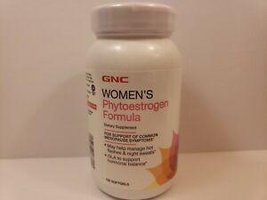 GNC Women's Phytoestrogen Formula Dietary Supplement - 120 Softgels exp-08/21