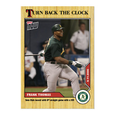 Frank Thomas - MLB TOPPS NOW Turn Back The Clock Card #165 PRE ORDER Oakland A'S