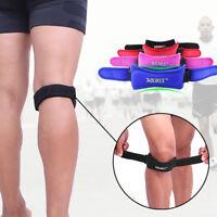 Patella Knee Strap Adjustable Patellar Tendon Support Band Athletics Pain Relief