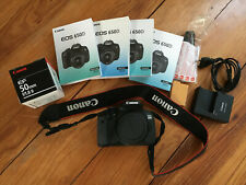 Canon EOS 650D  SLR-Digitalkamera mit EF 50mm
