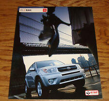 Original 2005 Toyota RAV4 Sales Brochure 05