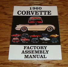 1960 Chevrolet Corvette Factory Assembly Manual 60 Chevy