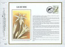 FEUILLET CEF / DOCUMENT PHILATELIQUE / LIS DE MER 1992 NANTES