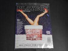 playboy*gala holiday issue*dec 2013* glow cover*mint*sealed*factory sealed*playb