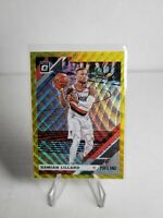 19-20 Panini Optic Basketball Tmall Gold Wave Prizm Damian Lillard SSP