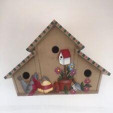 Decorative FolkArt Handpainted Birdhouse