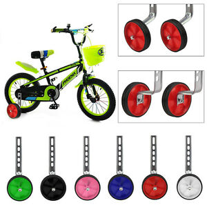 New Universal Bike Stabilisers Wheel Kids Bikes Cycle Training Wheels 12-20