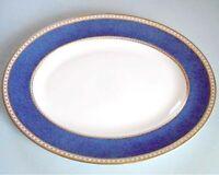 "Wedgwood Ulander Powder Blue Oval Platter 13.75"" Made in England New"
