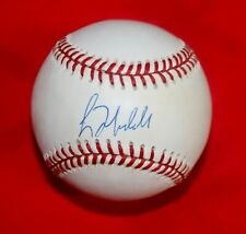 Cubs Braves Greg Maddux Signed Baseball With JSA COA