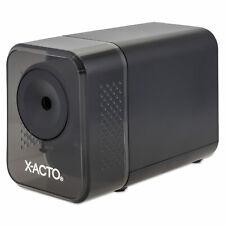 X Acto Xlr Office Electric Pencil Sharpener Charcoal Black 1818lmr