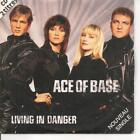 CD SINGLE 2 TITRES--ACE OF BASE-- LIVING IN DANCER--1994