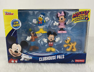 New!! FISHER PRICE -  Disney Junior - Mickey Mouse Clubhouse Pals 5 Fun Figures