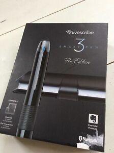 Smartpen Livescribe 3 Pro Edition Pen Evernote Premium Wireless for Smartphones