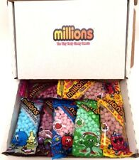 Mini Millions 5 flavours 7 Tube bags Sweets Box -Christmas Gift-Stocking Fillers