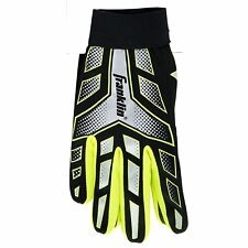 Youth Football Receiver Gloves Boys Kids Sport Large Size Grip - Color May Vary
