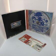 Sonic Adventure With Spine - Sega Dreamcast Japan JPN Import - Retro
