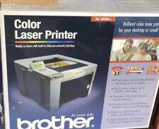 Brother HL-4040CN Workgroup Laser Printer Brand New In Box Vintage Rare