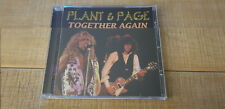 JIMMY PAGE  ROBERT PLANT   TOGETHER AGAIN