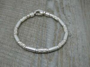 Rare Authentic Genuine Tiffany & Co. Aztec Bracelet GERMANY 925 Sterling Silver