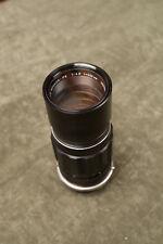 Minolta Rokkor 200mm f/4.5 Lens Ckean Optics (O3L) Camera