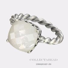 Authentic Pandora Silver Elegant Sincerity MOP Ring Size 58 (8) 190828MP