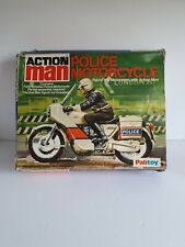 Palitoy Action Man Police Motorbike Never Been Assembled ,VAM,SUPER RARE