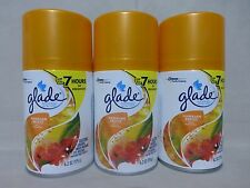 3 Glade Hawaiian Breeze Automatic Spray Refill 6.2 Oz