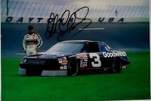 Dale Earnhardt Sr Signed 8x10 Photo